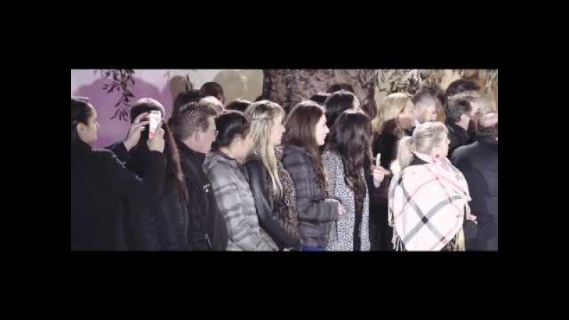 Antonino Cedro Haute Couture con Cosima Coppola Attrice Italiana Inaugurazione 29 03 2016