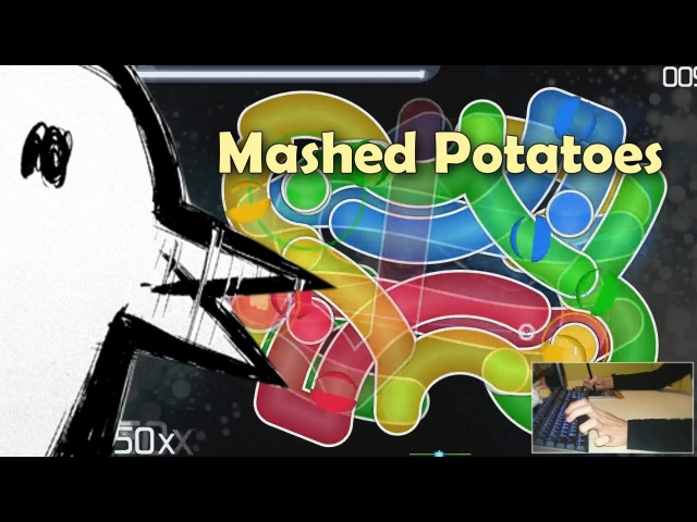AXARIOUS MAP OMFG Mashed Potatoes osu liveplay