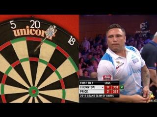 Robert Thornton vs Gerwyn Price (Grand Slam of Darts 2016 / Group B)