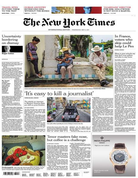 International New York Times 3 May 2017 FreeMags