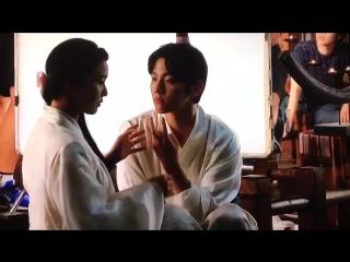 [cut] 170403 'scarlet heart: ryeo' japanese dvd: making film – 3