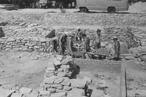 Раскоп на территории археологического заповедника, изображение №2