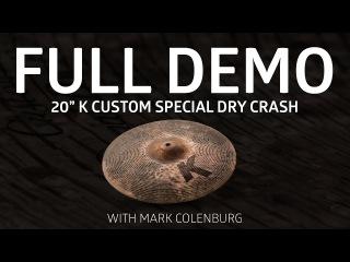 "Zildjian Demos - 20"" K Custom Special Dry Crash"