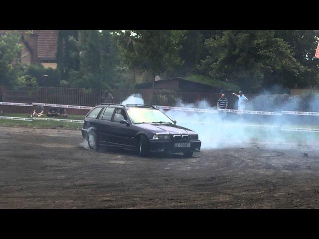 10. BMW Feszt BMW E36 TOURING NO SPERR 1. Burnout Drift ar na Soltvadkert BMW Fest 2014 06 13 15