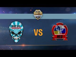 Not So Serious vs Nomen Est Omen - day 1 week 9 Season II Gold Series WGL RU 2016/17