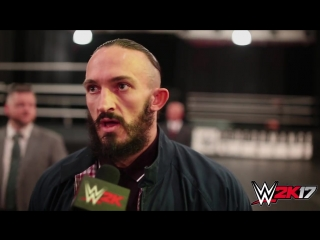 WWE 2K17 - WrestleMania Interview with Neville