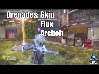 Destiny 2׃ ARC STRIDER PvP геймплей нового сабкласса хантера. Exclusive Gameplay! New Blade Dancer
