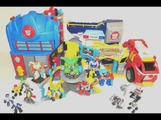Боты Спасатели Трансформеры обзор игрушек трансформеров роботы игрушки про мул...