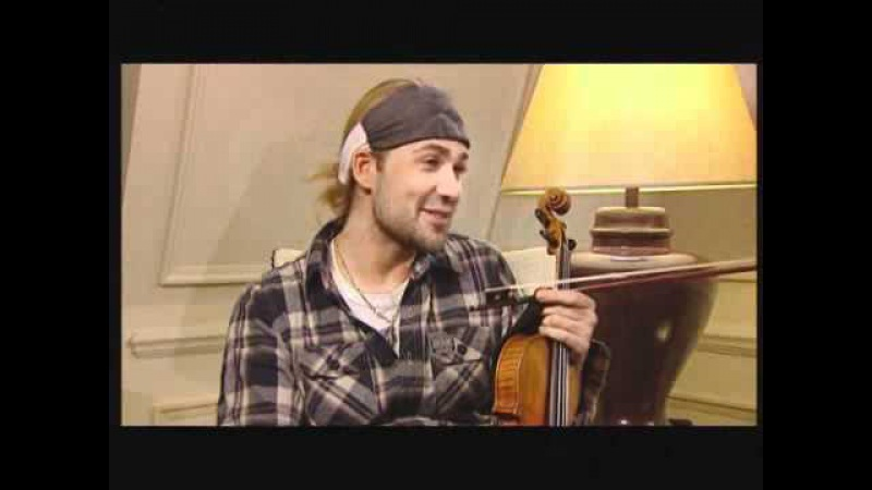 Top Billing | David Garrett | Interview | Violinist Par Excellence