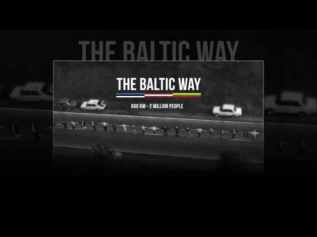 Artūrs Strautiņš Mūs vieno viens ceļš Veltijums Baltijas ceļam Priekš LR2