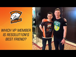 at EPICENTER: Moscow: which VP member is Resolut1on's best friend