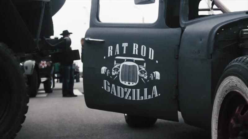 K.Cars RAT ROD GADZILLA