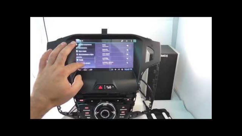 Штатное головное устройство на Android 4 1 Redpower CarPad 15150 Ford Focus3