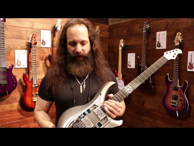 John Petrucci's NOMAC Majesty Guitar NAMM 2017 GEAR GODS