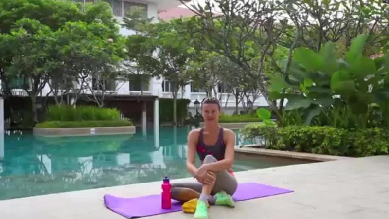 Как убрать обвисший живот после родов. Упражнения для похудения.