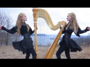 NORTH Original Song Camille and Kennerly Harp Twins 2 Girls 1 Harp
