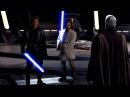 Оби Ван Кеноби и Энакин Скайуокер против Графа Дуку Звёздные войны Эпизод 3