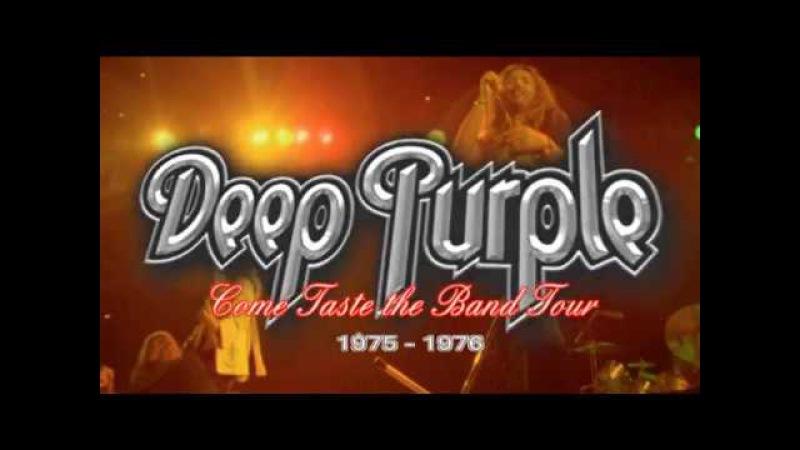 Deep Purple Come Taste the Band Tour 1975 - 1976