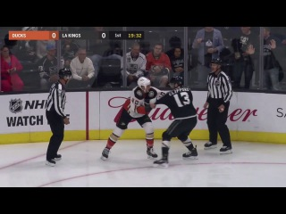 Jared Boll vs Kyle Clifford Sep 30, 2017 (Preseason)