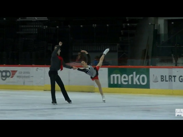 6 Alisa EFIMOVA Alexander KOROVIN RUS 2017 TA⅃⅃INN TROPHY SENIOR Pairs FS