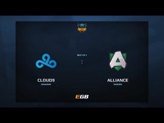 Cloud 9 vs Alliance, Game 2, Dota Summit 7, EU Qualifier