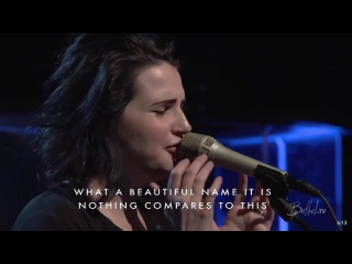 What A Beautiful Name + Spontaneous Worship - Amanda Cook and Jeremy Riddle