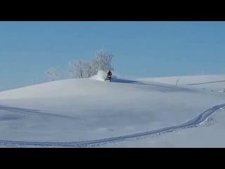 На что способен горный снегоход  Ski-doo !