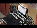 670 J. S. Bach - Chorale prelude Christe, aller Welt Trost , BWV 670,a 2 Clav. e Pedale - Daniel Bruun
