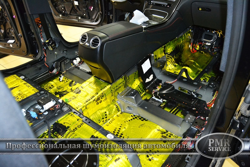Шумоизоляция Mercedes Benz GLC, изображение №8