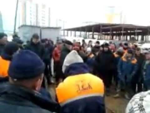 Протест витебских рабочих 01.04.2013