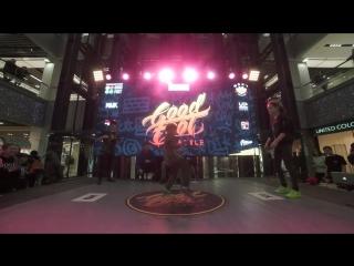 Миронова Катя vs Прокофьев Игорь | 1/4 Dancehall Beginners| Good Foot Battle