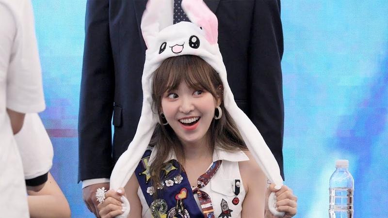 180818 레드벨벳 웬디의 토끼모자 Red Velvet Wendy's Rabbit Hat 스타필드고양팬사인회 4K 직캠 by 비 47805