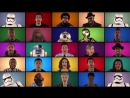 Jimmy Fallon, The Roots Star Wars- The Force Awakens Cast Sing Star Wars Medley (A Cappella)