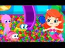 Мультики для маленьких: БиБаБу. Мультик 1. Русалочка и Бассейн с шариками