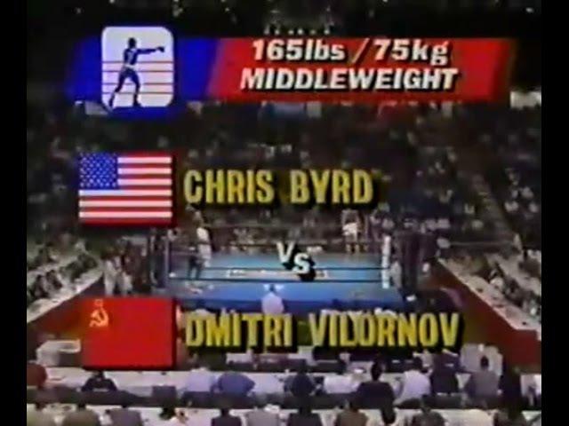 Риддик Боу(США)-Александр Мирошниченко(СССР)/91 кг./Олимпиада-88/1/2 финала