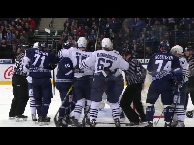 KHL Fight Klinkhammer VS Grigoryev