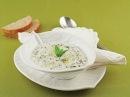 Турецкий холодный суп из перловки (овсянки) с йогуртом. Yoğurtlu Buğdaylı Soğuk Çorba.