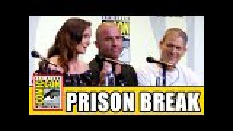 PRISON BREAK Comic Con 2016 Panel Highlights Wentworth Miller Dominic Purcell Sarah Wayne Callies