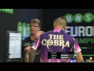Jelle Klaasen v Stephen Bunting (PDC European Championship 2016 / Round 2)