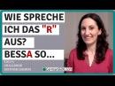 Challenge Deutsch lernen Tag 7 R oder kein ER Wie spreche ich es aus