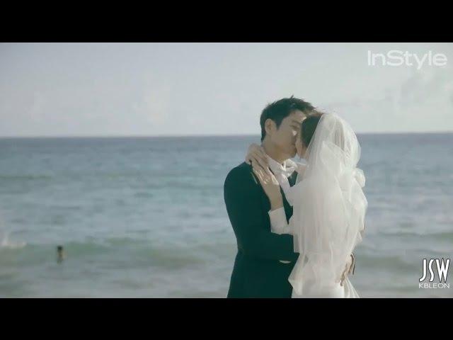 InStyle Korea Joo Sang Wook and Cha Ye Ryun Be In Love