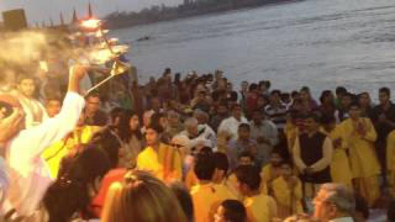 Ganga Aarti Rishikesh Parmarth Niketan Amazing