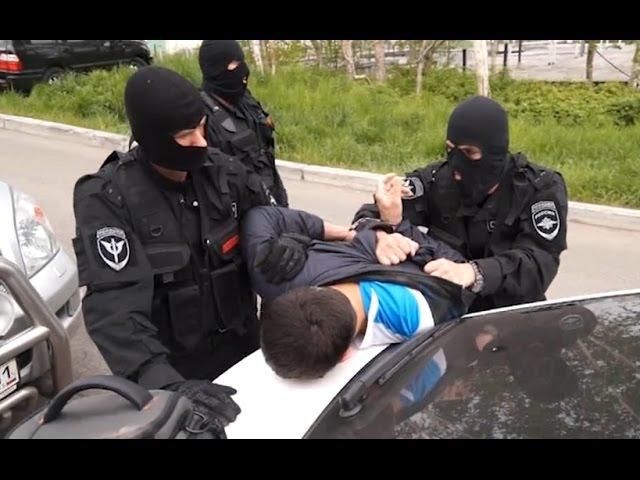 СОБР задержал ОПГ вымогателей оперативная съёмка