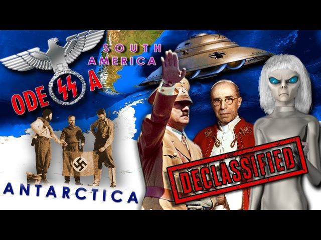 Альцион Плеяды 64 Антарктида,секретные проекты, базы нацистов-пришельцев, Аненербе, Одесса