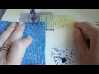 Ровные швы для начинающих. Учимся шить.