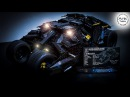 Batman Tumbler UCS LEGO 76023 - LED Lights Stop Motion Review