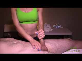 Prostate massage, milking, cum, handjob, latex gloves, cockring, cumclinic, sybian, массаж простаты
