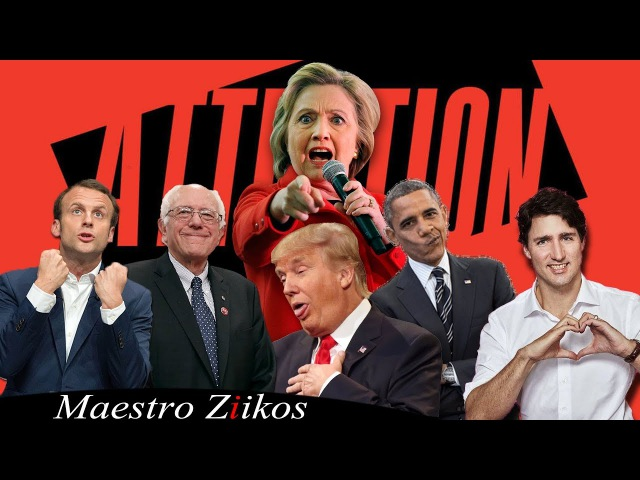 Charlie Puth Attention Acapella Cover By Trump Obama Trudeau Macron Clinton ft Ziikos