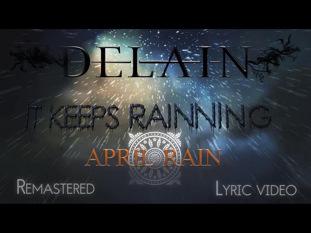 Delain - April Rain (Fan-remastered Lyric Video) [HD,HQ, album versión traducción al Español]