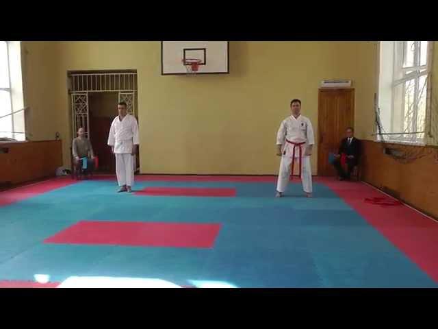 Каратэномичи ката ветераны 26 04 2015 года Karatenomichi kata veterans 04 26 2015 year